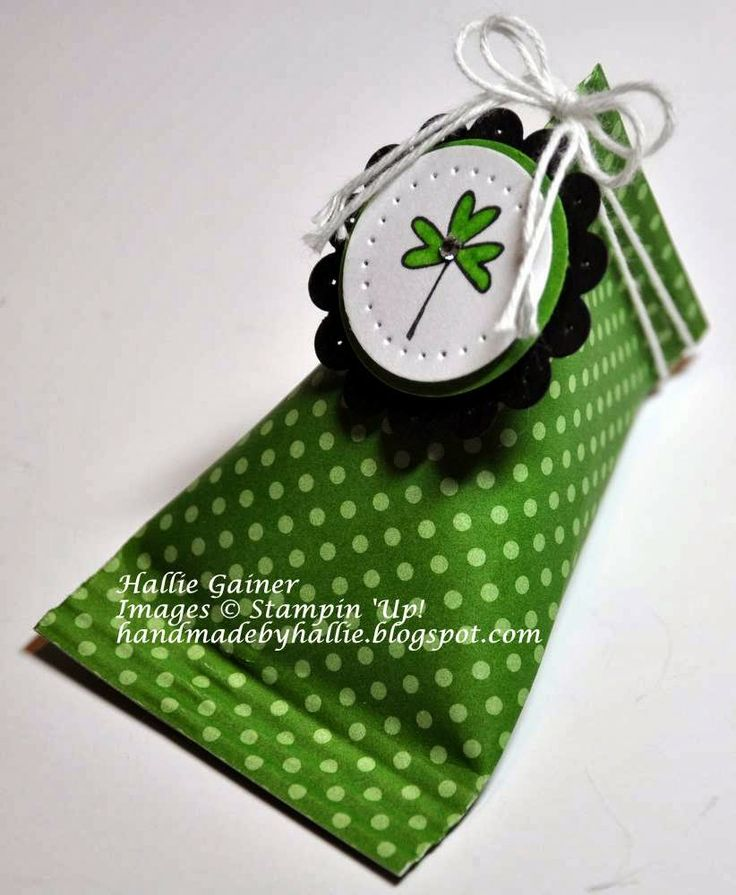 Stampin' Up! - Sour Cream Container - Every Little Bit - http://handmadebyhallie.blogspot.com/2014/03/7-days-to-st-pattys-day-5-sour-cream.html