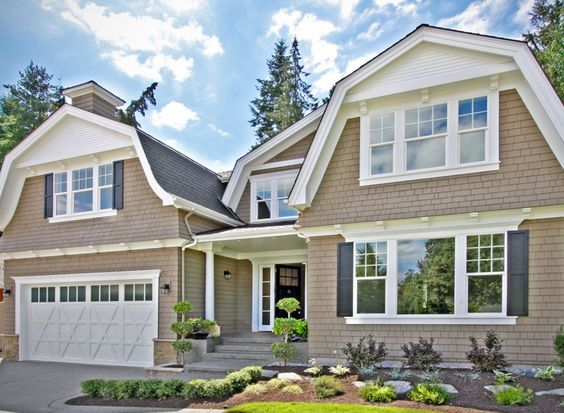 Beautiful 4 Bed Gambrel House Plan - 23582JD | Country, Craftsman, Shingle, Narrow Lot, Photo Gallery, 2nd Floor Master Suite, Butler Walk-in Pantry, CAD Available, Den-Office-Library-Study, Jack & Jill Bath, Loft, PDF | Architectural Designs