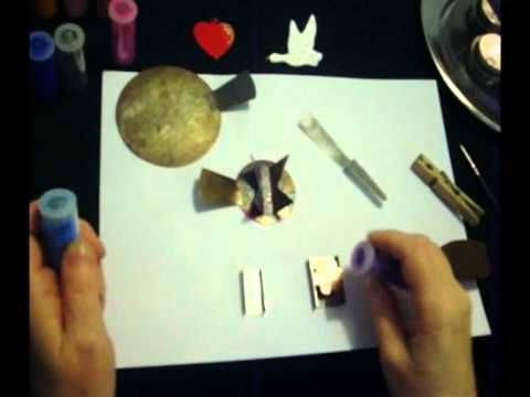 手机壳定制air jordan cp  copper and enamelling without a kiln using tealights
