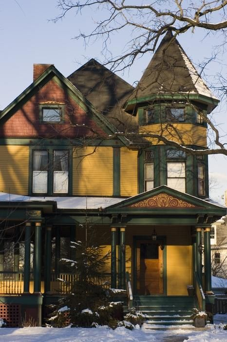 victorian house - photo/picture definition at Photo Dictionary...