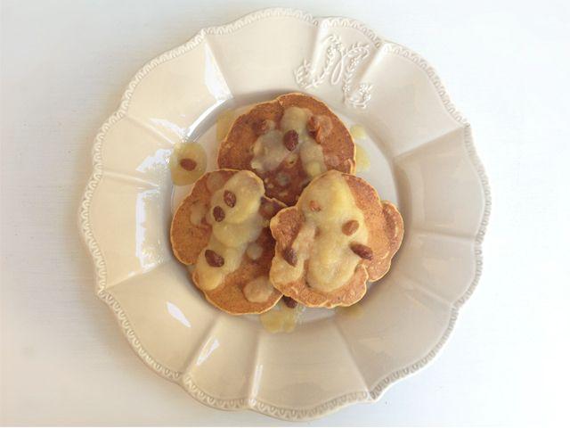 Mipiacemifabene ;-) di Federica Gif: Pancakes sugarfree con salsa di mele