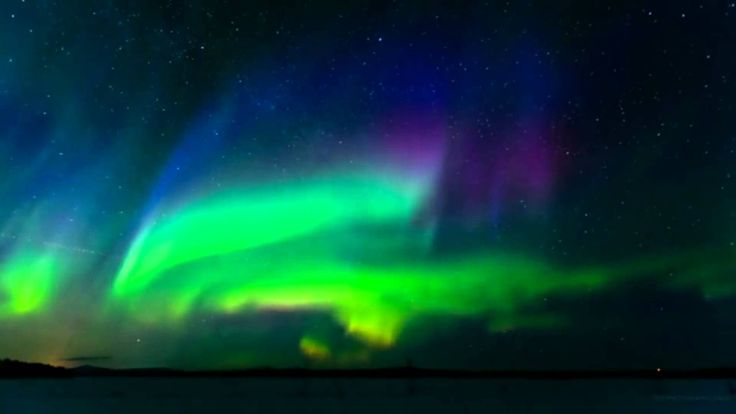 ESPECTACULAR AURORA BOREAL EN NORUEGA - FULL HD (Aurora Borealis)