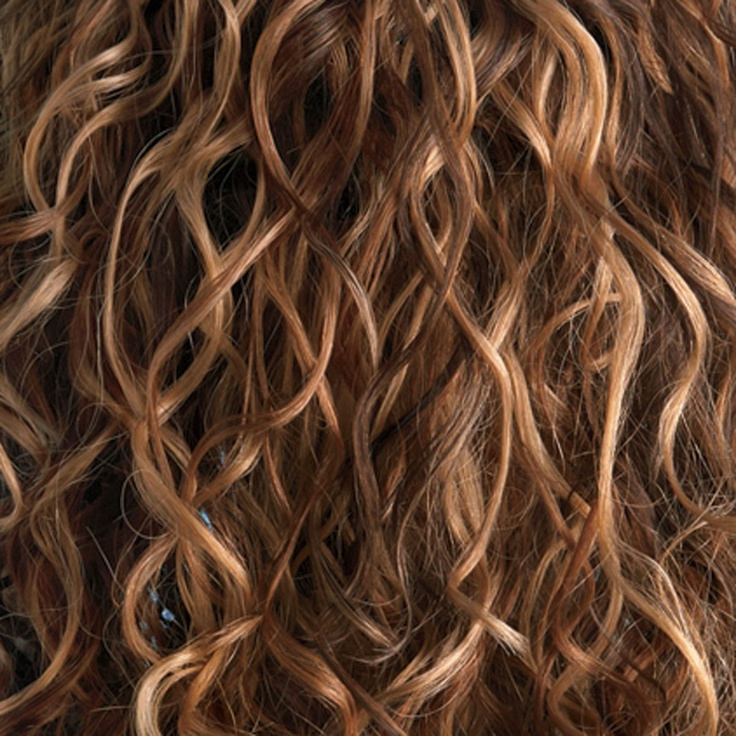 Curly Highlights Curly Hair Coloring Permed Hairstyles