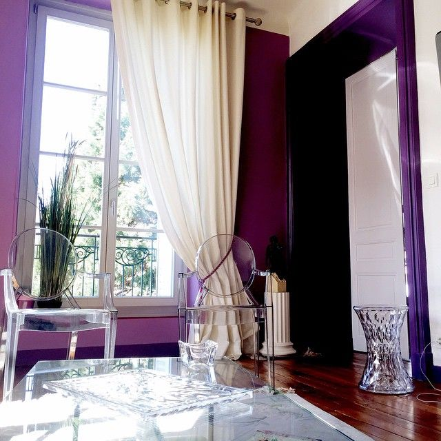 Kartell in a violet house