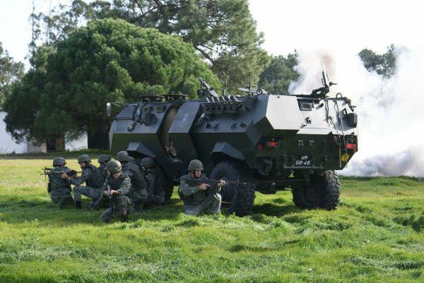 Combat simulation portuguese Air police
