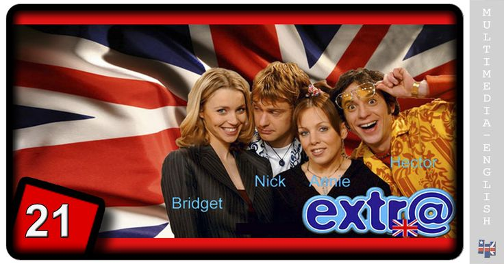 A cool TV series, a funny sitcom, and an English course, all wrapped in one single package to make Extr@, the perfect way of learning natural English having…