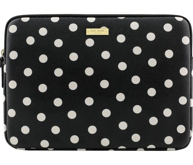 kate spade new york - Sleeve for Microsoft Surface Pro 3/Pro 4 - Black - Front Zoom
