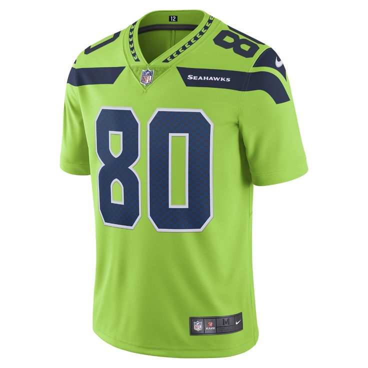 Nike NFL Seattle Seahawks Color Rush Limited (Steve Largent) Men's Football Jersey Size Medium (Green)