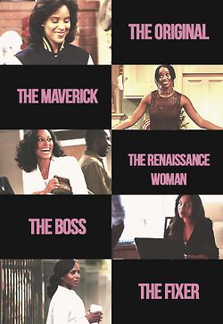 Representation matters: my five favorite black female fictional lawyers.   Claire Huxtable (The Cosby Show) Maxine Shaw (Living Single) Joan Clayton (Girlfriends) Jessica Pearson (Suits) Olivia Pope (Scandal)
