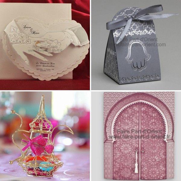 Les 25 meilleures images du tableau faire part mariage oriental sur pinterest mariage oriental - Decoration oriental mariage ...