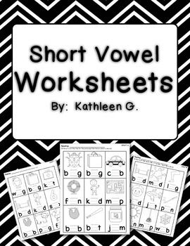 FREE Short Vowel Practice Worksheets