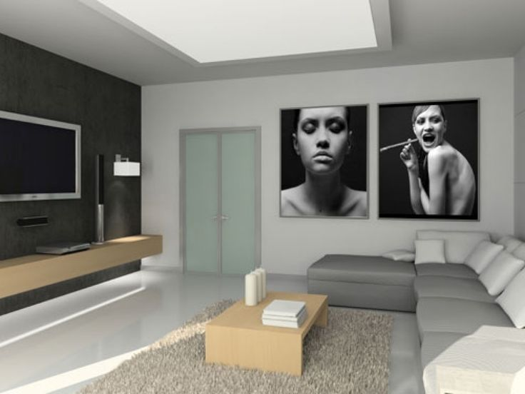 Wohnzimmer Modern : Wohnzimmer Modern Tapezieren ~ Inspirierende ... Schlafzimmer Modern Tapezieren