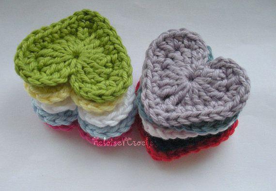 Crochet Heart Pattern - instant digital download