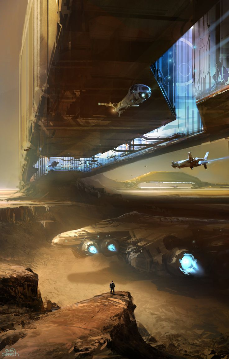 Inner Bridge, sparth - nicolas bouvier on ArtStation at http://www.artstation.com/artwork/inner-bridge