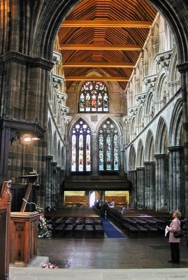 Interior, Paisley Abbey, Renfrewshire, Scotland.My childhood church, my mother was the secretary here