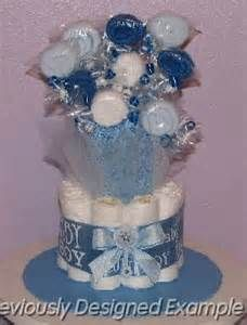 diaper bouquet for baby shower for boy - Bing Images