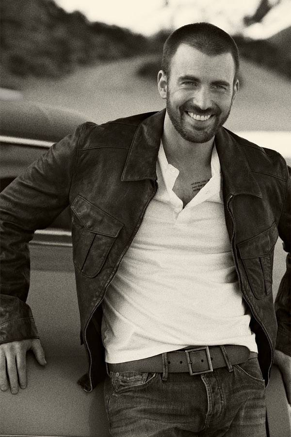 Session for DETAILS, Chris Evans, Model, Actor, So hot and sexi :3 :) <3