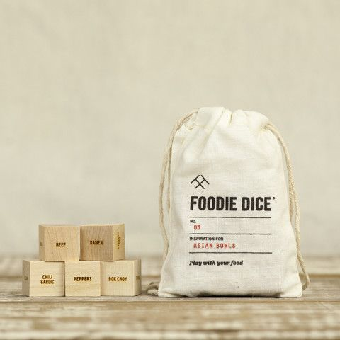 Foodie Dice No. 3 - Asian Bowls
