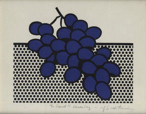 Roy LichtensteinBlue Grapes1972