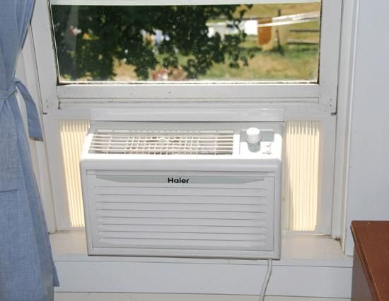 Off-Grid Solar-Powered Air Conditioner - much needed for the sick, germs don't thrive in the cold.