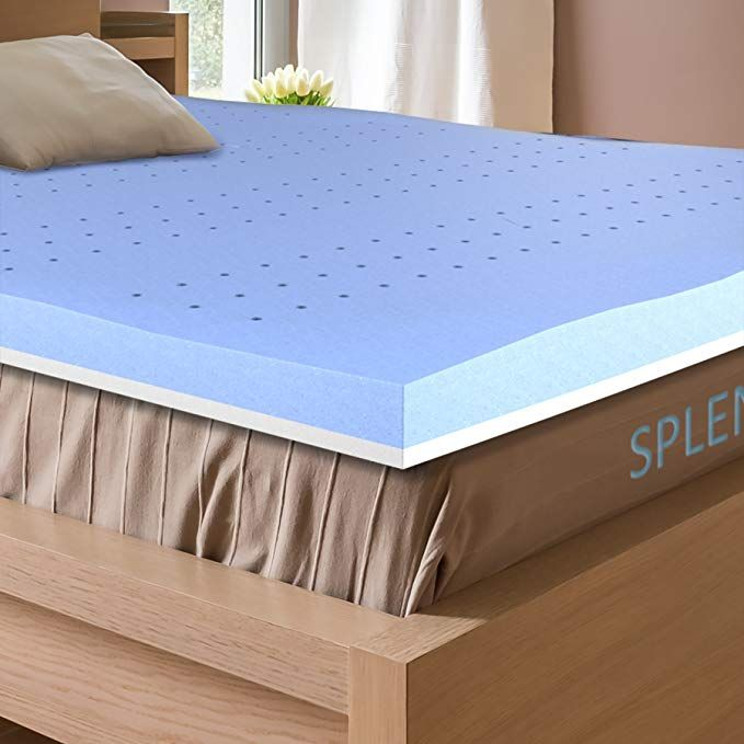 Splendoress 3 Inch Mattress Topper Queen Size Hypoallergenic Gel