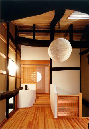 Japan renewal of a traditional folk house