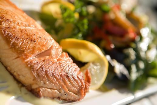 to avoid high-mercury fish such as shark, swordfish, tilefish and king mackerel. Mercury poisoning can cause disturbances in