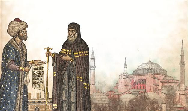 Or so Sultan Mehmed II is supposed to have proclaimed overlooking the city from the roof of the Hagia Sophia following the conquest of Constantinople in 1453.