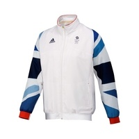 Adidas Team GB Replica Men's Training Jacket, White  £70.00    John Lewis    This lightweight jacket is a replica of the training kit given to all Team GB athletes, ready for the London 2012 Olympic and Paralympic games.