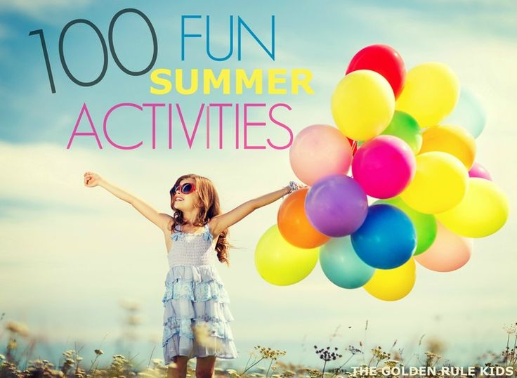 Check out some great ideas and activities to keep your kids busy this summer.