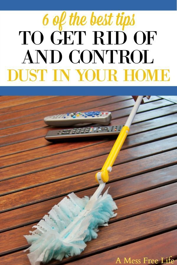 How To Control Dust In Your Home Cleaning Hacks Dusting Tips