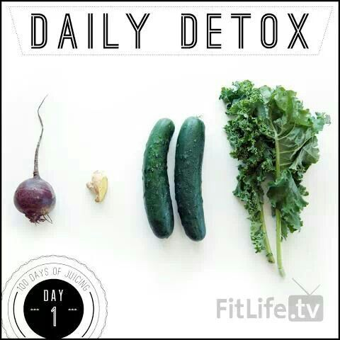 Day 1: daily detox juice #eatclean