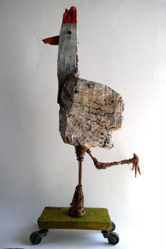 #so65 #ene mene meste poule,sculpture,gérard collas,carennac