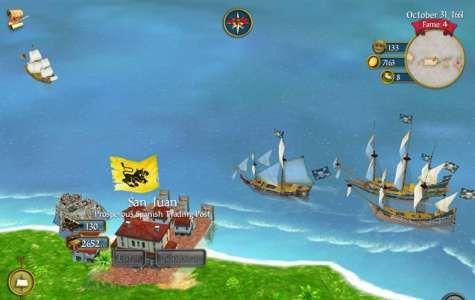 Sid Meier's Pirates! poate fi cumparat la PRET REDUS in App Store Romania
