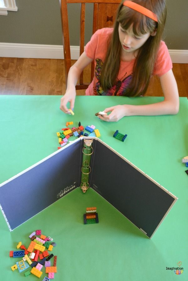Fun Auditory and Visual Processing Activities with LEGOs