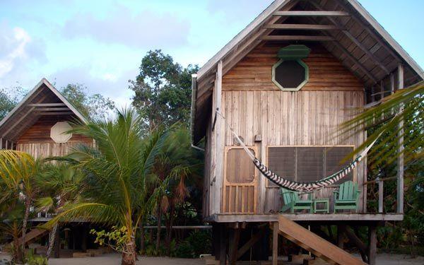 Green Parrot Resort, Placencia, Belize.