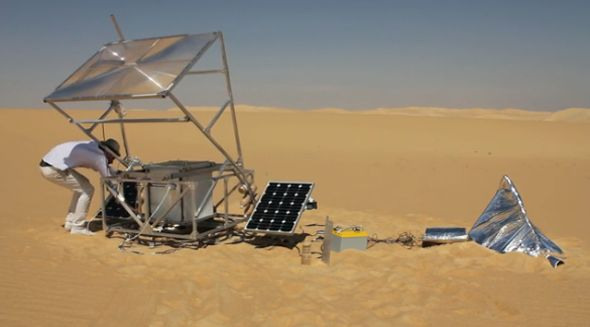 Solar Sinter Project