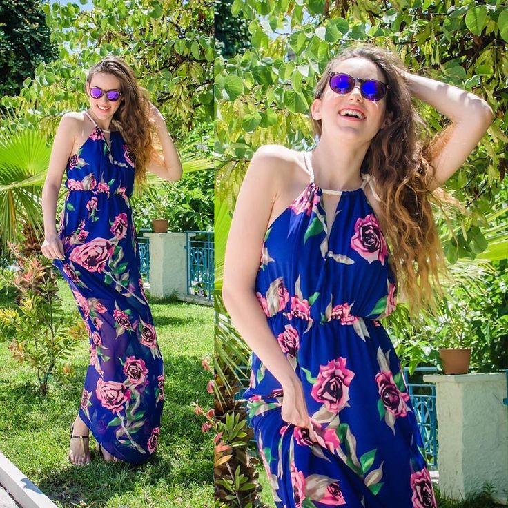 Don't forget to be #happy  #lovefashiongr #fashionblogger #sessile #floral #scapeswear