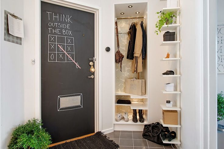HousesDesign. Фотография из статьи «Меловая доска в дизайне интерьера: создание и методы применения»