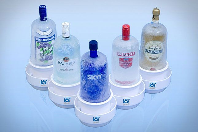 How cold? Ice cold! Ice Jackets are the hottest way to display your bottles and keep them cold.