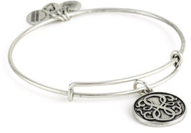"Amazon.com: Alex and Ani Bangle Bar ""Path of Life"" Russian-Silver Expandable Bracelet: Jewelry"