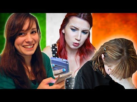 Australian and British Girls Attempt To Pronounce Traditional Irish Names