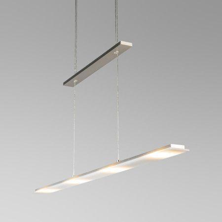 Pendelleuchte Flat Stahl Schöne Pendelleuchte bestehend aus einer Stahlplatte. Durch die moderne Optik der Lampe kann man diese fast überall anbrignen. Zudem ist sie einfach höhenverstellbar #Lampe #Light #Innenbeleuchtung #einrichten #wohnen #Pendelleuchte