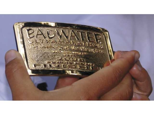 The Reward for Finishing the #Badwater Ultramarathon in Under 48 Hours