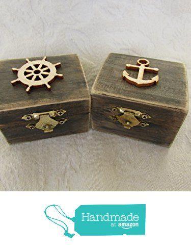 HIS and HERS Beachy Coastal Nautical Rustic Wedding Ring BOx Gift Box Trinket Box Wedding Decor from Tres Chic Reine http://www.amazon.com/dp/B01FC9XNZ2/ref=hnd_sw_r_pi_dp_8G2lxb18CDA3M #handmadeatamazon