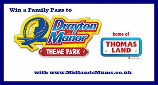 Midlands Mums: Win a Family Pass to Drayton Manor to Celebrate the New Ride Winston's Whistle Stop Tour