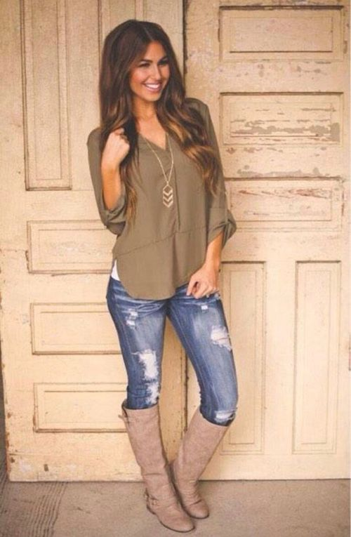 Maybe with darker brown boots I would definitely love this!