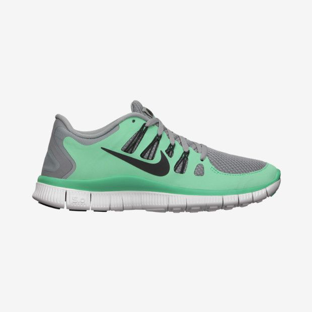 nike free run 5.0 womens mint green