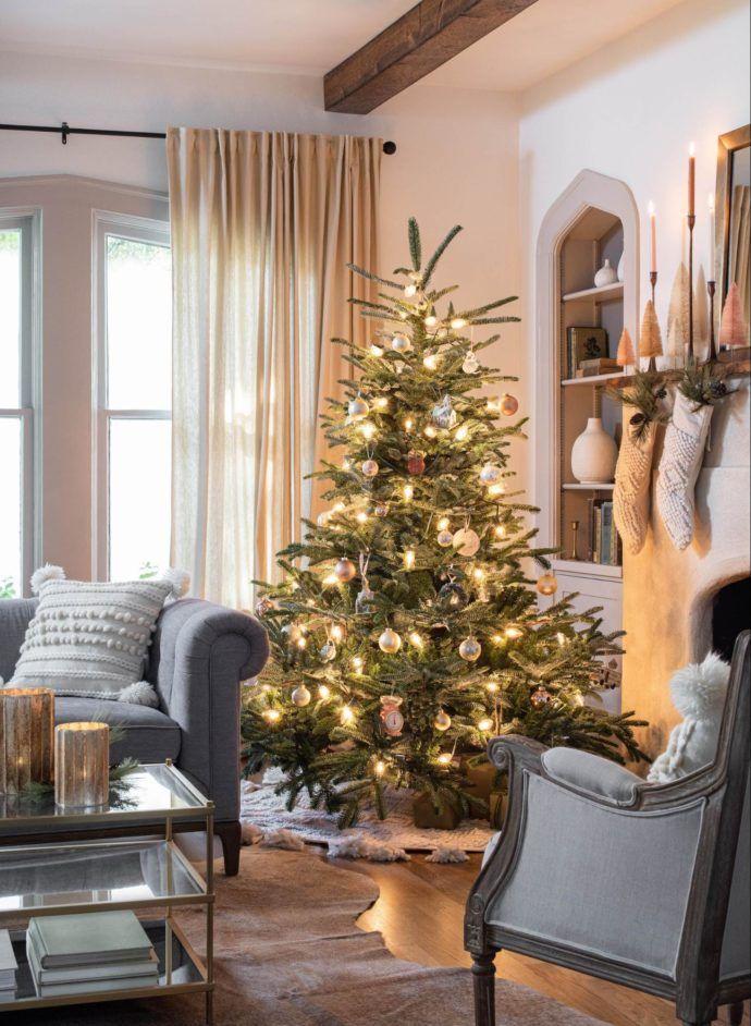 Christmas At Magnolia Green Holiday Decor Elegant Christmas Tree Decorations Elegant Christmas Trees