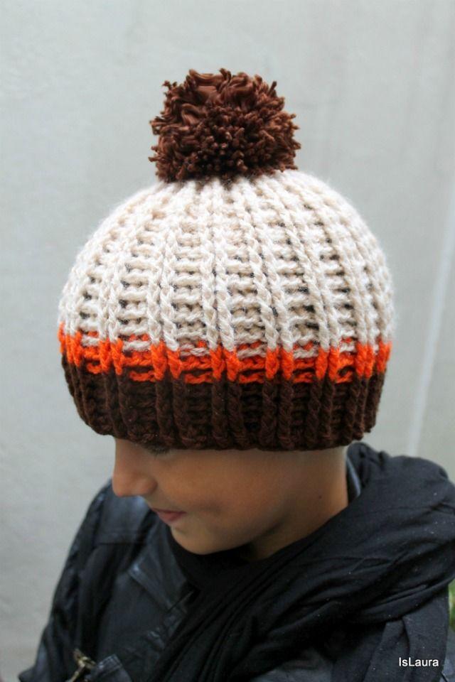 Tutorial cappellino a crochet con punto in rilievo